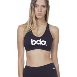 WOMEN RACER PADDED BRA (041010 D MAROON-01)BLACK
