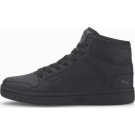Αντρικό παπούτσι Puma Rebound LayUp SL FOOTWEAR 369573-11 ΜΑΥΡΟ/ΓΚΡΙ ΣΚΟΥΡΟ