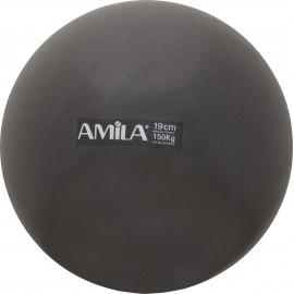 Μπάλα Pilates 19cm Μαύρη 95802