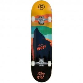 Skateboard Τροχοσανίδα PLAYLIFE 19.880307 Fierce Wolf 31X8 ίντσες