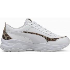 Puma Cilia Mode Γυναικεία Παπούτσια 373217-02 Puma White-Leopard