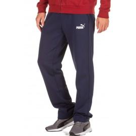 Puma Ανδρικό Αθλητικό Παντελόνι Fw18 Ess Logo Pants 851755-06 Μπλέ