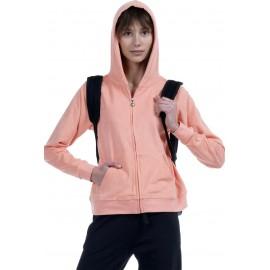 Body Action Γυναικεία Ζακέτα Με Κουκούλα Ss19 Women Towel Hoodie Jacket 071918 -08C