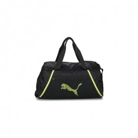 Τσάντα Puma AT Ess Grip Bag 077366-07 Black-SOFT FLUO YEL