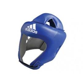 """Δερμάτινη Επαγγελματική Κάσκα Πυγμαχίας ADIBH04 """"ADISTAR"""" μπλε"""