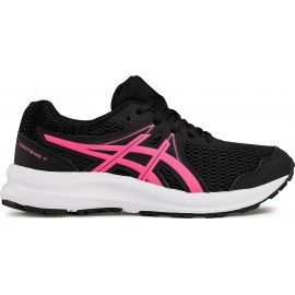 Παπούτσια ASICS - Contend 7 Gs 1014A192-006 Black/Hot pink