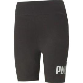 Γυναικείο Ποδηλατικό Κολάν Puma Women's Essential 7inch Metallic Short Tights 586895-51