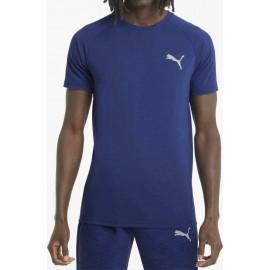 Puma Evostripe Tee Ανδρικό Αθλητικό T-Shirt 585806-12 elektro blue