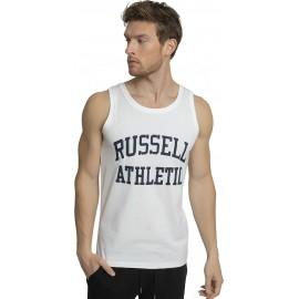 Ανδρική αμάνικη μπλούζα RUSSELL ATHLETIC AL-SINGLET A1-082-1-001 ΛΕΥΚΟ