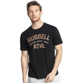 Ανδρική κοντομάνικη μπλούζα Russell Athl-S/S Crewneck Tee Shirt A1-013-1-099 Μαυρο