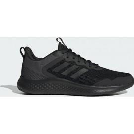 Ανδρικό Παπούτσι Adidas Core Linear Fluidstreet (FY8094) Μαύρο