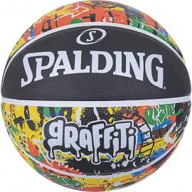 Μπάλα μπάσκετ Spalding Rainbow Graffiti 84 372Z1