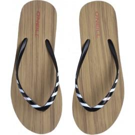 Γυναικείες σαγιονάρες flip-flop O'NEILL BLACK DITSY CORK SANDALS 1A9514-9010