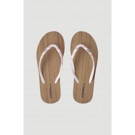 Γυναικείες σαγιονάρες flip-flop O'NEILL BLACK DITSY CORK SANDALS 1A9514-4075 Pink