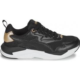 Γυναικείο παπούτσι Sneaker Puma X-Ray Lite Metallic Pop 382717-01 Puma Black-Puma Black-Puma Team Gold