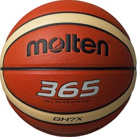 Μπάλα μπάσκετ MOLTEN 365 silver (BGH7X)