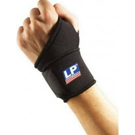 Περικάρπιο Υποστήριξης με Αντίχειρα & Δέσιμο σε Μαύρο Χρώμα LP Support 739 Wrist Wrap