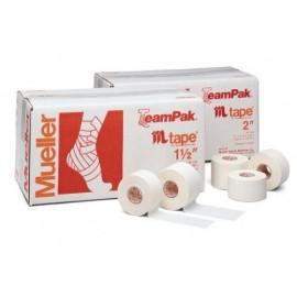 Αυτοκόλλητη ταινία Tape (2,54 εκ. x 9,14 μ.) με φυσικό στερεό καουτσούκ από την Mueller(130104)