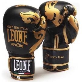Γάντια προπόνησης LEONE Muay Thai (GN031 blk)