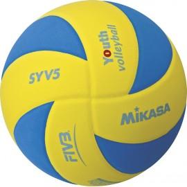 Εφηβική μπάλα βόλεϊ Mikasa SYV5 YBL (41832)