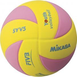 Εφηβική μπάλα βόλεϊ Mikasa SYV5 YBL (41833)