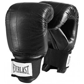 Everlast Γάντια Σάκου BOSTON PU LEATHER BLK 1802