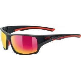 Γυαλιά ηλίου UVEX sportstyle 222 POLA Black Mat / Red (S5309802330)