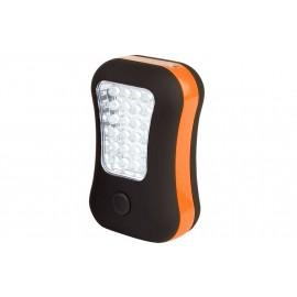 Φωτάκι LED camping 2 σε 1 (πορτοκαλί) ABBEY® (21IM ORZ)