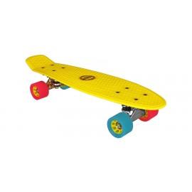 """Skateboard Plastic (22.5"""") Nijdam (52NF GBF)"""