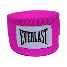Μπαντάζ EVERLAST COTTON HAND WRAPS 275cm - Pink