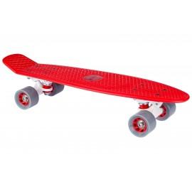 "Skateboard Plastic Τυπου Penny (22.5"") Κόκκινο Nijdam (52NR RGW)"