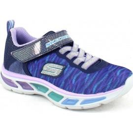 Αθλητικό παιδικό παπουτσάκι Skechers S Lights: Litebeams Colorburst 10767N NVLV